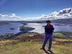 Oak Tree In Balmaha and with views from Conic Hill