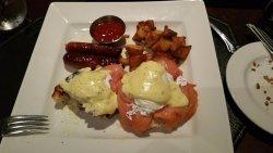 Salmon Lox Eggs Benedict