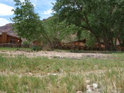 Red Cliffs Lodge 16 miles outside of Moab, Utah, private and lovely