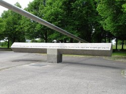 Denkmal fur die Opfer des Olympiaattentats 1972