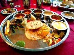 Sukanta Pure Veg Indian Thali