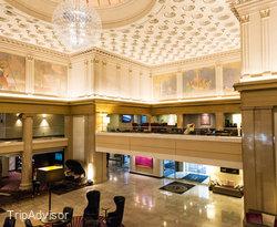 Lobby at the Renaissance Denver Downtown City Center Hotel