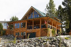 Logan Lake Log Cabin B&B