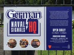German Naval Signals HQ