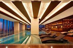 Swimming Pool, located on the 50th floor