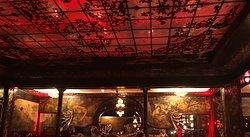 Interior of dining area