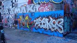 Graffitti Treffpunkt - Mangelhaft - Laut - Hotelleitung machtlos