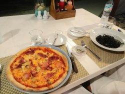 Leckere Pizza und gute Pasta