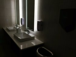Meeting room washroom