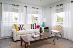 One bedroom suite - living & kitchenette