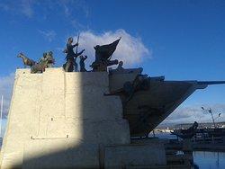 Monumento A Tripulantes Galeta Ancud