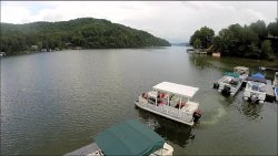 Lake Lure Pontoon Rental