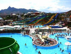Waterpark in Koktebel