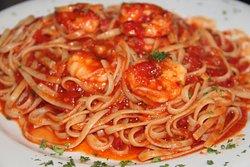 Shrimp Fra Diavolo & linguini