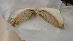 The Clark sandwich is great with turkey & avocado!