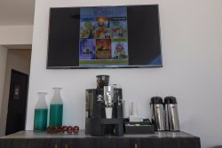 Free coffee station at the lobby.