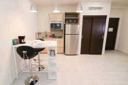 One Bedroom Suite's kitchenette