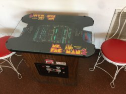 Ms. Pac-man, the only game my wife can beat me at