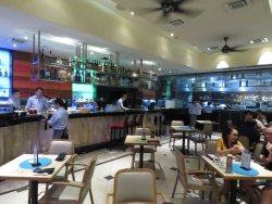Kuala Lumpur - Malaysia - Michelangelo's Restaurant - Great Food and Atmosphere.