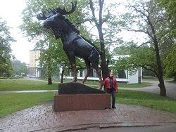 Monument to Elk