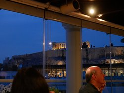 Iconic view from Hera Rooftop Bar
