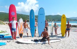 Surfing Corsica