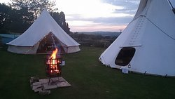 DB TPs At The White Dog Inn Tepee Camping