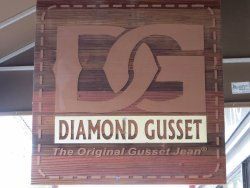 Diamond Gusset Jean Company