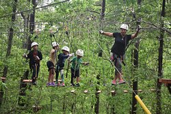 Historic Banning Mills Zip Line Canopy Tours