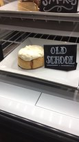 """The """"Old School"""" cinnamon roll. You can get day-old rolls at a reduced price too."""