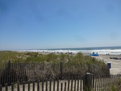 North Wildwood, more waves, more current, more fishing