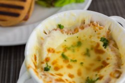 Gratineed French Onion Soup