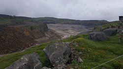 View from the top of the quarry