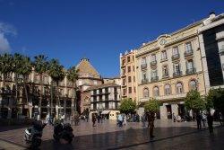 Plaza del Obispo de Malaga