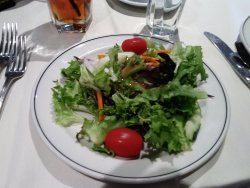 The salad at Stoney appeals to the eye and is tasty.