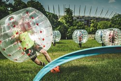 Bubble Football Krakow by Gmoods