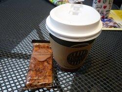 コーヒーとアーモンドのお菓子