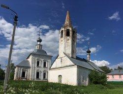 Church of the Nativity of St John the Baptist and Church of the Epiphany (Bogoyavlenskaya tserkov)