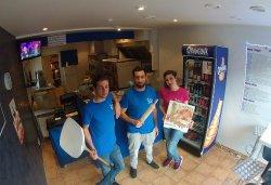 Pizza Globe-Trotteur