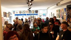 "A great turn-out at the Spring 2017 ""Heads Up"" Exhibition"