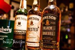 great selection of fine Irish whiskey