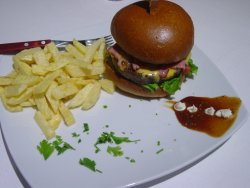 Burgers for lunch or dinner!