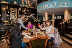 The Admiralty - a friendly atmosphere