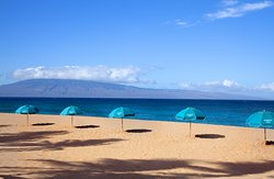 Legendary Ka'anapali Beach fronting The Westin Maui Resort & Spa.