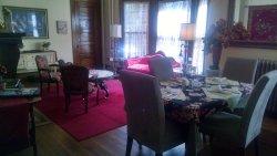 Main living area/breakfast table