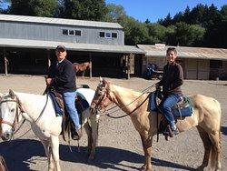 Great horses, happy riders!!