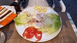 Sea bass. Delicious