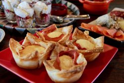 Delicious baked eggs are part of our sumptuous breakfasts