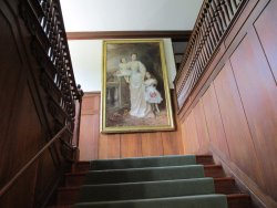 Painting on Stairway
