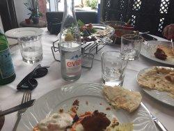 Heerlijke Indiase maaltijd, ik zou zeker terug komen